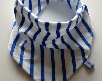 Striped Bandana bib