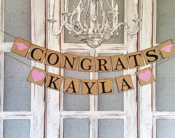 Graduation Party Decorations 2018 Congrats Signs Commencement Rustic
