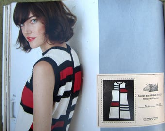 The Ohio Knitting Mills 26 Vintage Inspired Projects for the Modern Knitter MONDRIAN SKYLINE