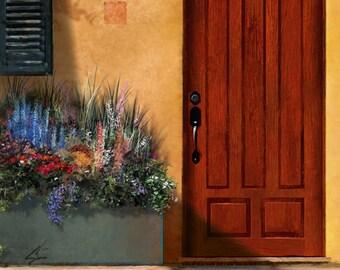 The Front - Old World Architectural Mediterranean Door