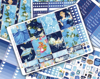 Before Midnight DELUXE Weekly Planner Sticker Kit