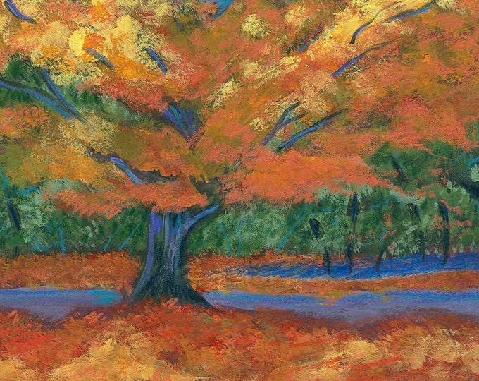 Autumn's Splendor notecard