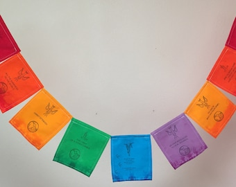 St. Francis of Assisi Prayer Flag. All proceeds to families in Mexico. Free domestic shipping.