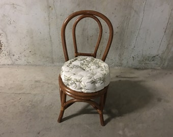 70's rattan chair