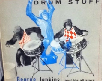 Drum Stuff 12 Inch Vinyl Record By George Jenkins And His All-Stars
