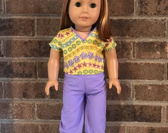 "18"" Doll Scrubs (fits American Girl Dolls)"