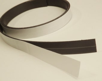 5' foot Self Adhesive Flexible Magnetic Strip Tape - DIY Magnets | Dishwasher | Refrigerator | Signs
