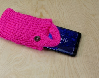 Hot Pink Cell Phone Sock/Case/Cover/Cozy