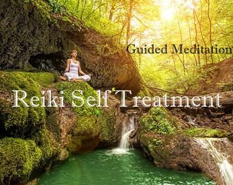10 min. meditation to focus and guide you through a Reiki Self treatment