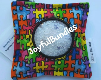 I Spy Bag, Puzzle Pieces, Autism Awareness, Car Game, Educational Game, Busy Bag, Travel Toy, I Spy Game, Party Favors, Eye Spy Game