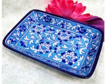 Valet Tray, Perfume Tray, Blossom Perfume Tray, Bathroom Decorative Tray, Makeup Tray, Vanity Tray, Dresser Tray, Bathroom Decor, Boho decor