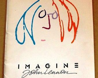 Imagine  John Lennon    Movie Press Kit  Original  1988 Press Kit  -  John Lennon