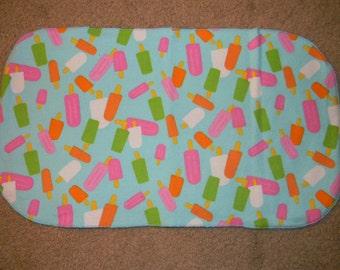 Popsicle Burp Cloth