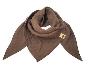 Scarf, burb, scarf, muslin, triangular cloth