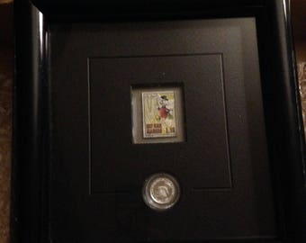 Disney's Scrooge Stamp and Coin