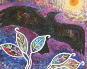 Sacred animal totem-Crow