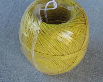 Yellow Hemp Twine