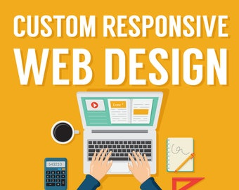 Custom Website Design Service, Responsive Website Design, Wordpress Website, Website Design, Web Design, Web Designer, Web Developer