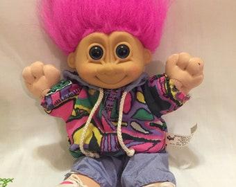 Plush Troll Doll