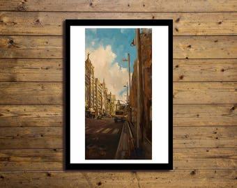 Poster Artistico 50x70cm URBAN 15