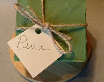 Pine - Handmade Soap - Natural Soap - Essential Oil Soap - Cold Process Soap