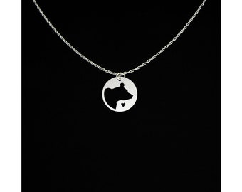 Bear Necklace - Bear Jewelry - Bear Gift