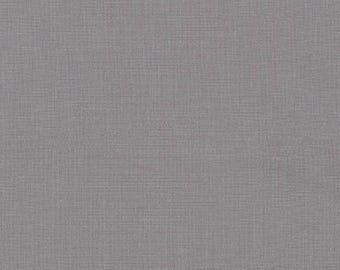 Pewter, Kona Cotton, Gray Fabric, Robert Kaufman Fabric, Half Yard