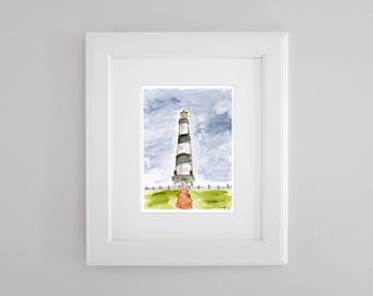 Bodie Island Lighthouse - Outer Banks, North Carolina PRINT