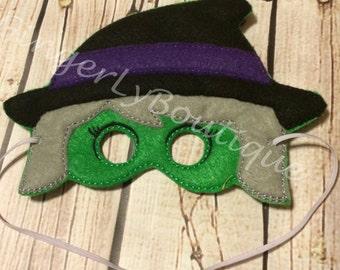 Felt Witch Mask