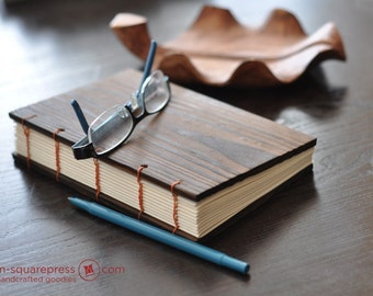 Pine Wooden handcrafted Sketch/Journal Book