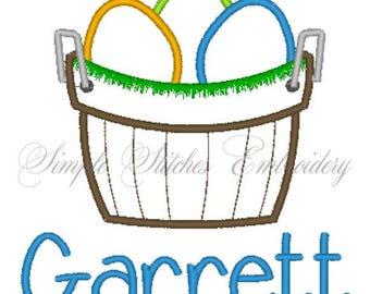 Easter Basket with Egg Shirt/Bodysuit