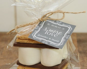 24 - S'mores Wedding Favor Kits - Any Tag Design