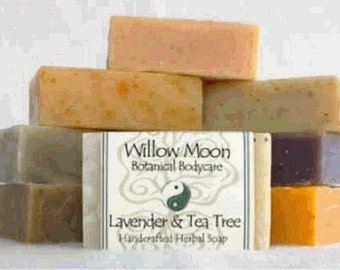 Choose 5 handcrafted soaps for 25 Dollars and save