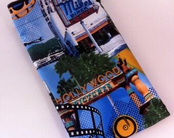 Hollywood Travel Laundry Bag, Oscar Swag Bag, Hollywood Vacation Travel Laundry Bag, Academy Awards Swag Bag, Handmade by AnnieKDesigns
