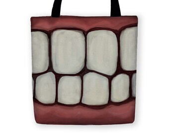 TOOTHY TOTE BAG Carryall