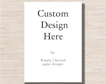 CUSTOM DESIGN - Template