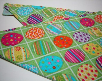 Easter Eggs for Spring Dog Scarf Over the Collar Dog Bandana