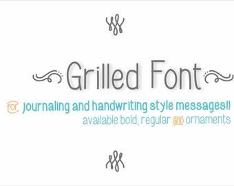 Grilled Font Regular