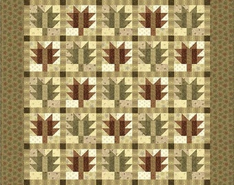 Japanese Maple Quilt Pattern FREE SHIPPING w/ Fabric Purchase