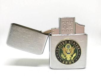 Army Pocket Lighter – 1″ Color