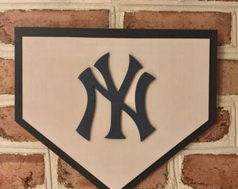 New York Yankees limited edition 3d man cave wall art kids bedroom Home Plate