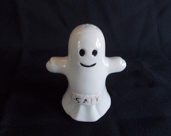 Vintage Halloween Ghost Salt Shaker