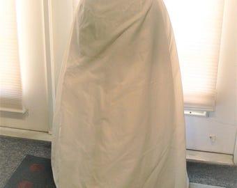 size 8 long petticoat  union label