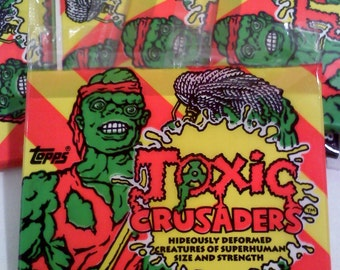 Trading Cards-TOXIC CRUSADERS Trading Cards