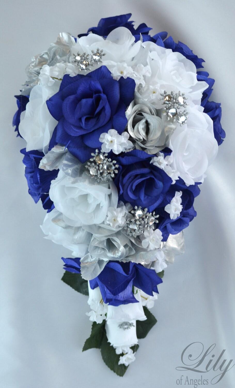 Wedding flowers wedding bouquet silk flower bouquet zoom izmirmasajfo Gallery