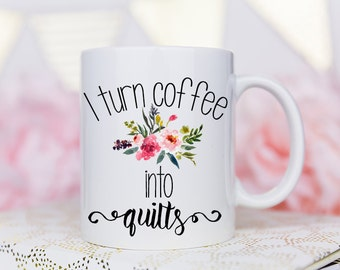Sewing Mug, Quilters Gift, Gift for Quilters, Coffee Mug, Sewing Gift, Seamstress Gift, Seamstress Mug, Sewing Machine, Gift for Sewer, Mug