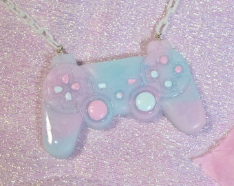 Glitter Controller Necklace