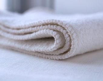 36 Organic hemp cotton fleece 2 layer inserts - super absorbent!