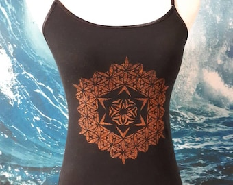 Sacred Geometry - Flower of Life tank top