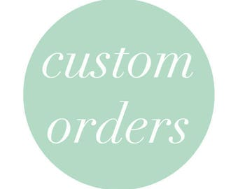 CUSTOM made size dresses